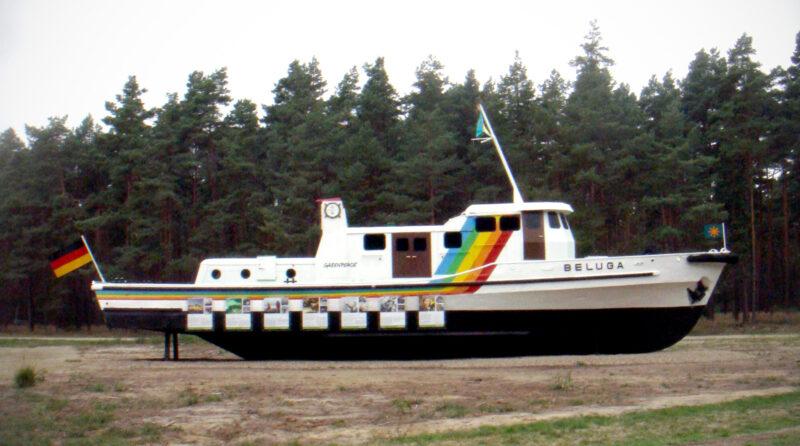 Gorleben: Greenpeace Schiff Beluga