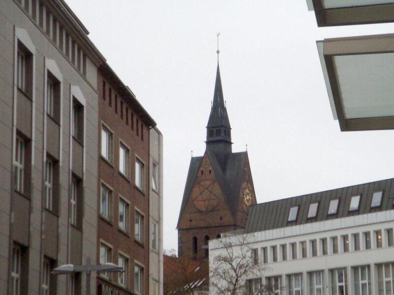 Hannover Marktkirche Pentagramm