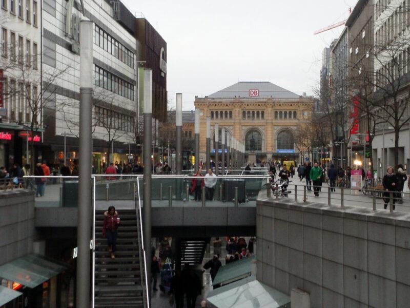 Hannover: Bahnhofstraße
