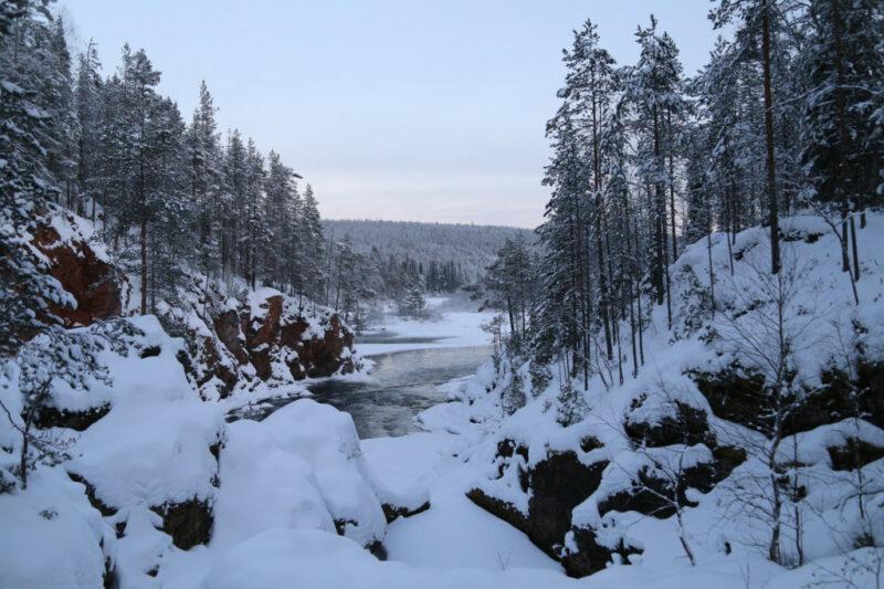 Finnland: Kiutaköngäs Nationalpark
