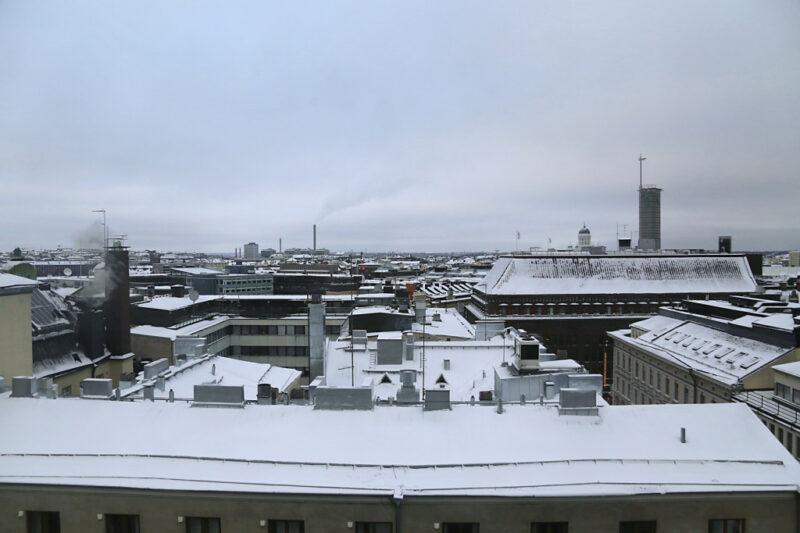 Helsinki Skyline bei Tag