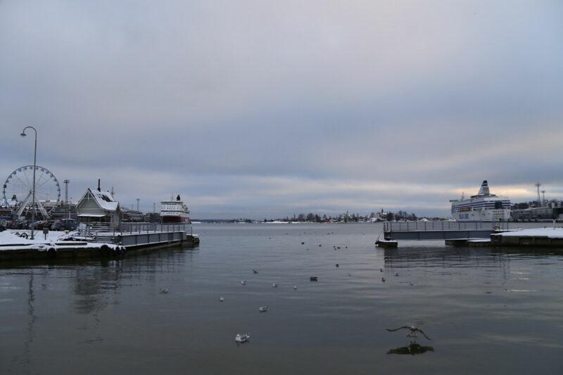 Helsinki Hafen / Fähren-Terminals