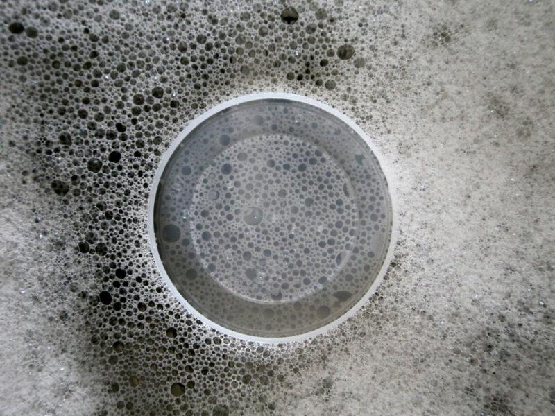 Zerstreuungskreise: Blasen, Wasser, Schaum
