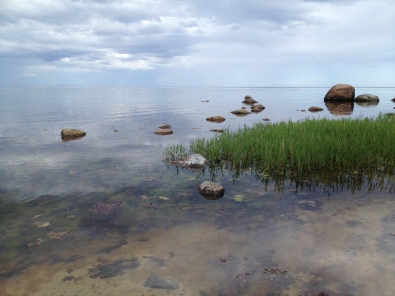 Ostsee-Blick mit Wolken-Himmel