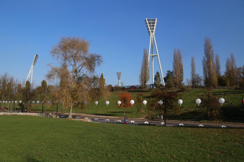 Lichtgrenze Berlin Mauerpark