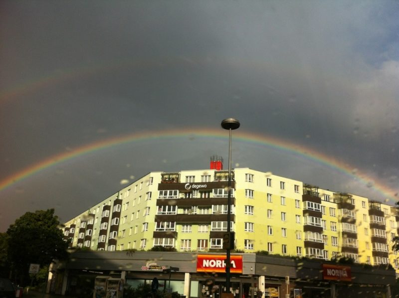 Regenbogen Berlin Wedding