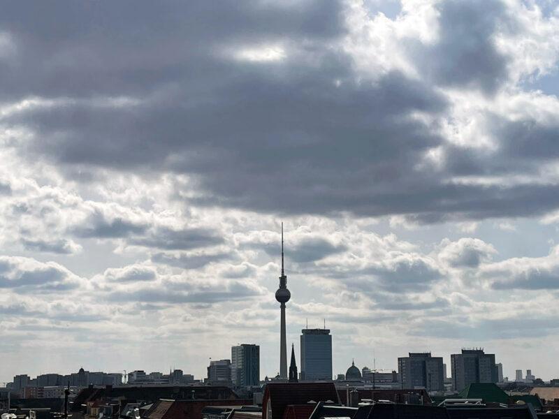 Berlin Skyline mit Fernsehturm