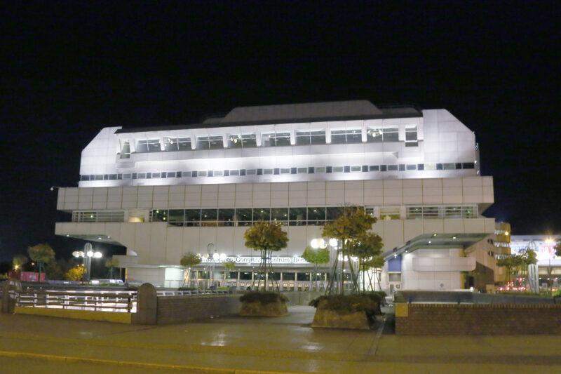 ICC Berlin bei Nacht